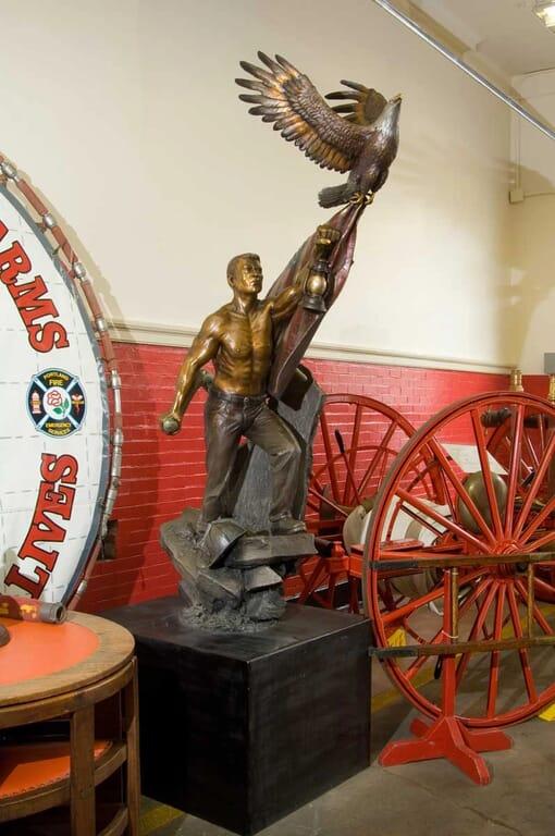 911 Memorial Bronze Sculpture-1