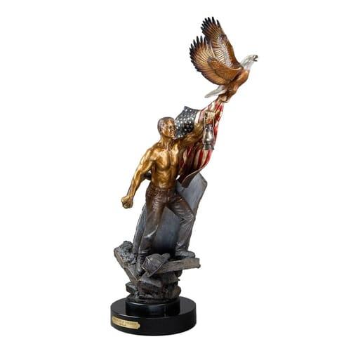 911 Memorial Bronze Sculpture-3
