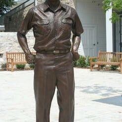 Admiral Nimitz Bronze Sculpture-1