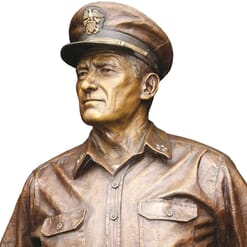 Admiral Nimitz Bronze Sculpture-2