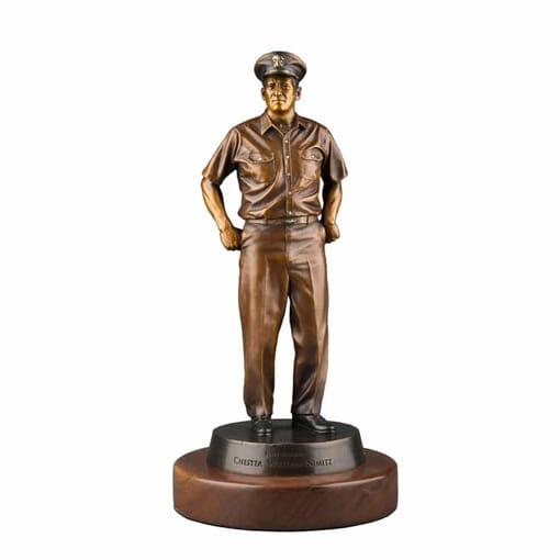 Admiral Nimitz Bronze Sculpture-mini