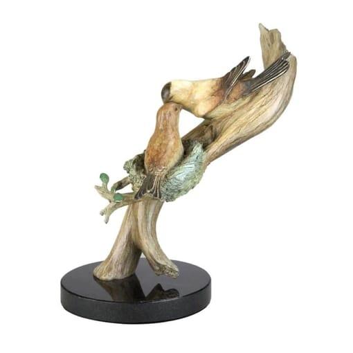 Bird Bronze Sculpture - A Special Love