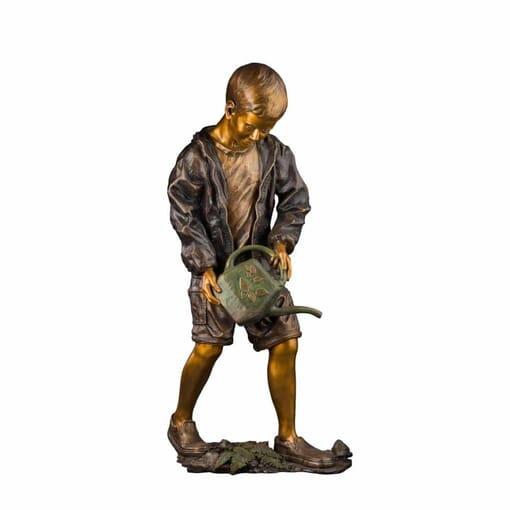 Boy Bronze Sculpture