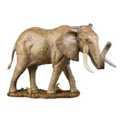 Bronze African Elephant Sculpture-1