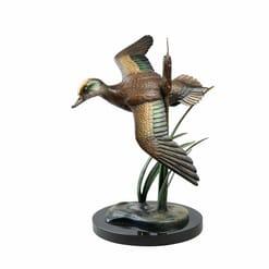 Bronze American Widgeon Sculpture