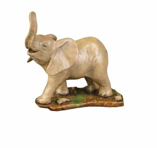 Bronze Baby African Elephants Sculpture