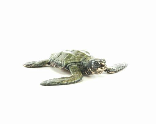 Bronze Baby Sea Turtle Sculpture-1