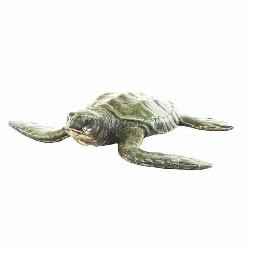 Bronze Baby Sea Turtle Sculpture