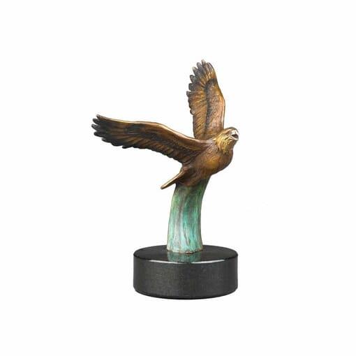 Bronze Bald Eagle Sculpture