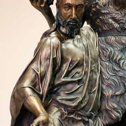 Bronze Baptism of Christ Sculpture-2