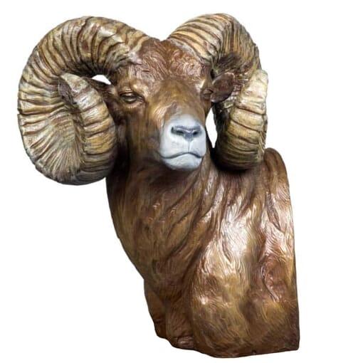 Bronze Big Horn Sheep Sculpture