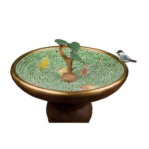Bronze Bird Fountain Sculpture-1