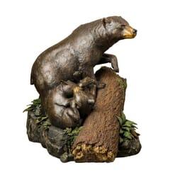 Bronze Black Bears Sculpture-1