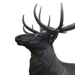 Bronze Bull Elk Sculpture-7