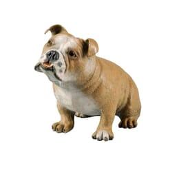 Bronze Bulldog Sculpture