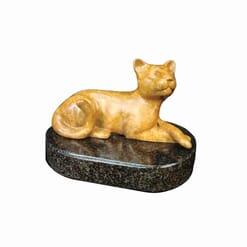 Bronze Cougar Sculpture - Mini