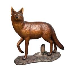 Bronze Coyote Sculpture