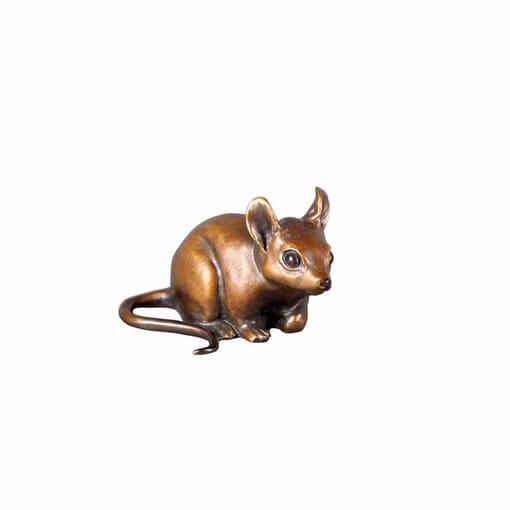 Bronze Deer Mouse Sculpture
