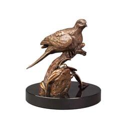 Bronze Dove Sculpture-2