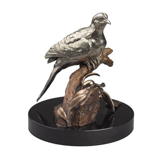 Bronze Dove Sculpture