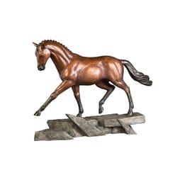 Bronze Dressage Horse Sculpture