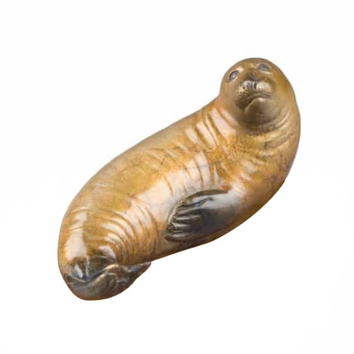 Bronze Elephant Seal Sculpture