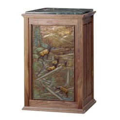 Bronze Elk Panel