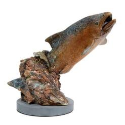 Bronze Fish Sculpture - Splash Dance-2