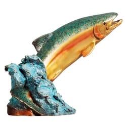 Bronze Fish Sculpture - Splash Dance