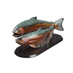 Bronze Fish Sculpture