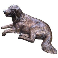 Bronze Golden Retriever Sculpture