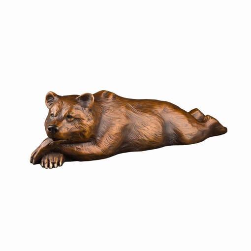 Bronze Grizzly Bear Sculpture