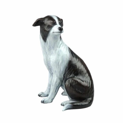 Bronze Heeler Dog Sculpture-1