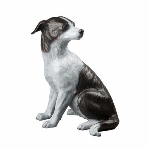 Bronze Heeler Dog Sculpture