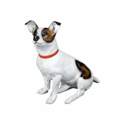 Bronze Jack Russell Terrier Sculpture-2