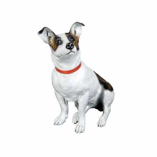 Bronze Jack Russell Terrier Sculpture