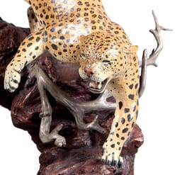 Bronze Leopard Sculpture-1