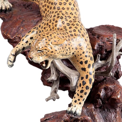 Bronze Leopard Sculpture-2