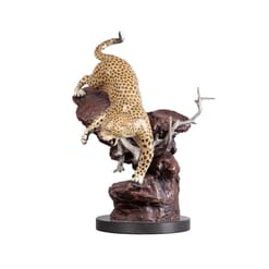 Bronze Leopard Sculpture-3