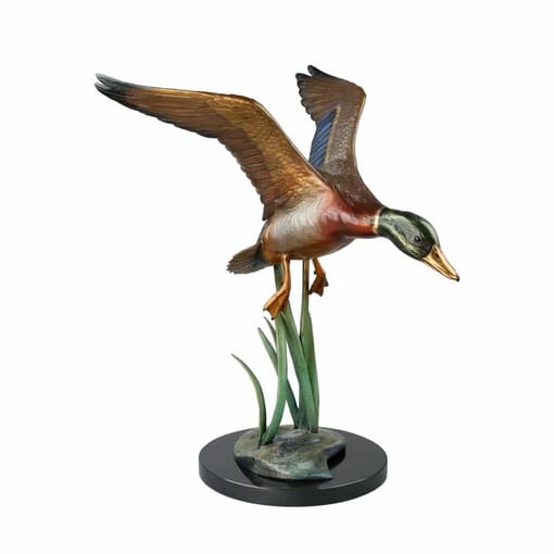 Bronze Mallard Duck Sculpture