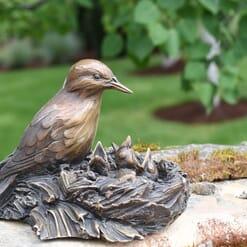 Bronze Meadowlarks Sculpture-1