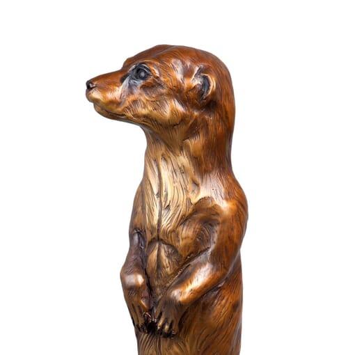 Bronze Meerkat Sculpture-3