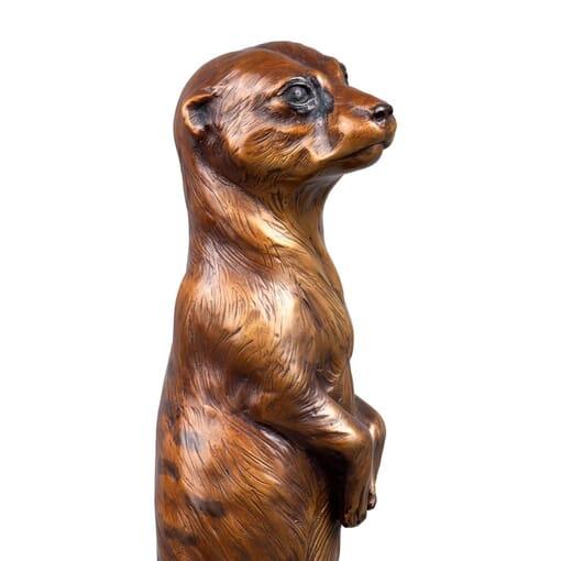 Bronze Meerkat Sculpture-4