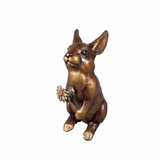 Bronze Rabbit Sculpture