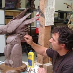 Bronze Raven Sculpture-5