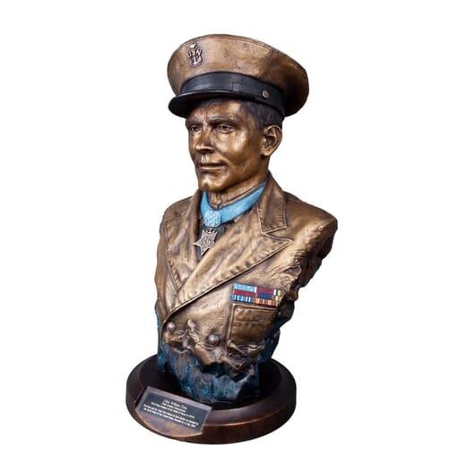 Chief John Finn-left