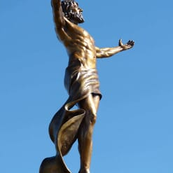 Christ Bronze Sculpture - Ascension-5
