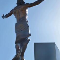 Christ Bronze Sculpture - Ascension-6