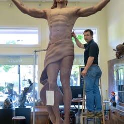 Christ Bronze Sculpture - Ascension-9