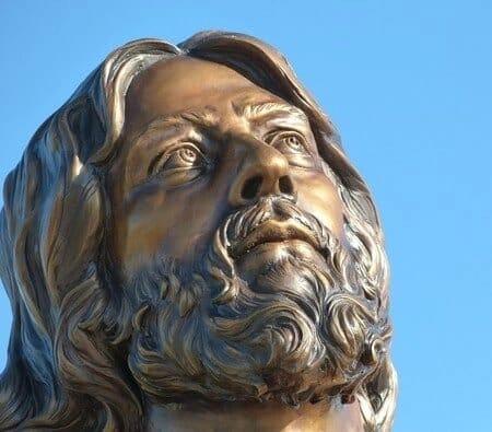 Christ Bronze Sculpture - Ascension